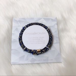 Crystal Crush Swarovski Inner Peace Bracelet